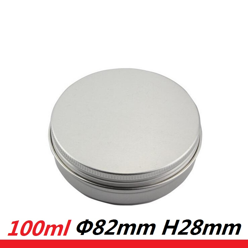 80 stks 100g Ronde Blikjes Metalen Verpakking Cosmetica Jar Cream - Huidverzorgingstools