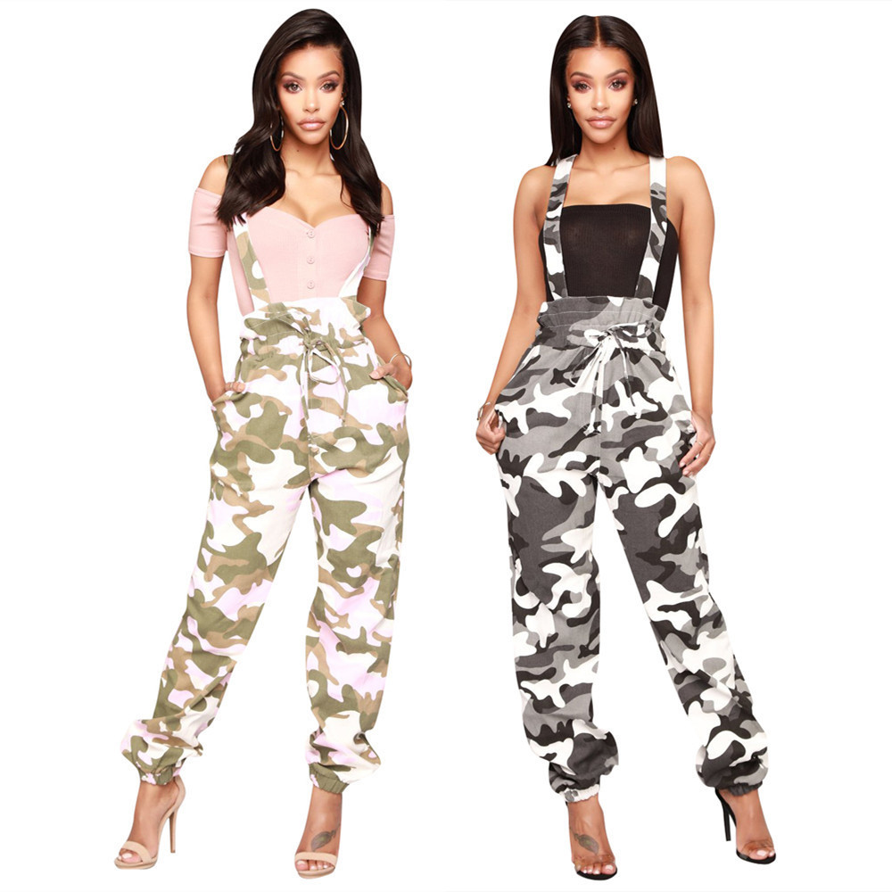 2019 Streetwear Cargo Pants Women Casual Joggers Black High Waist Loose Female Trousers Korean Style Ladies Pants Capri L187