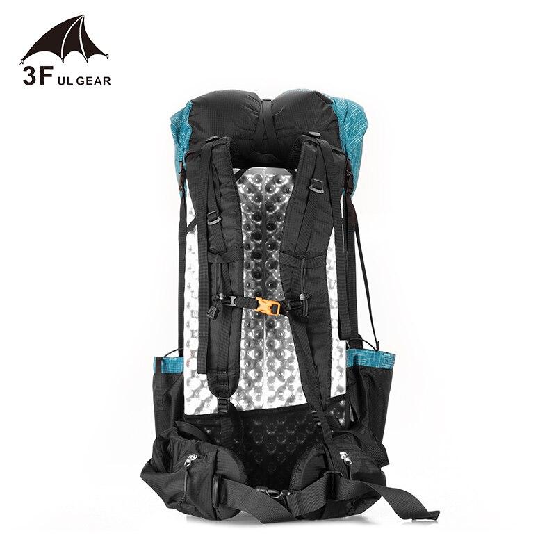 3F UL GEAR sac à dos de randonnée résistant à l'eau sac de Camping léger voyage alpinisme sac à dos Trekking sacs 40 + 16L - 4