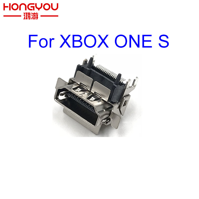 10PCS Original New 1080P HDMI Socket Port Parts Replacement for XBOX ONE S SLIM Motherboard Repair