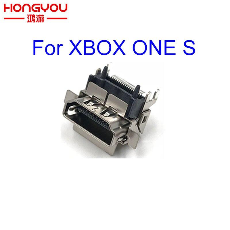 10 шт. оригинальные новые 1080P HDMI-совместимые разъемы запасные части для XBOX ONE S тонкая материнская плата ремонт