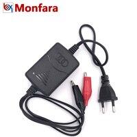 100 V-240 V Draagbare 12V Smart Lood-Zuur Batterij Oplader Automotive Motorfiets Power Charge Adapter ONS EU Plug Black Auto Tool