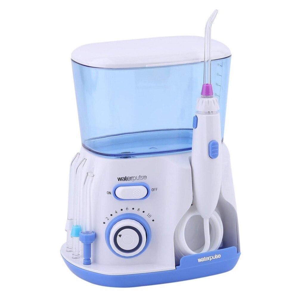Waterpulse Santé Dentaire Flosser Orale Supérieure Irrigator Eau Floss Dents Cleaner Orale Irrigation Soins Outil US Plug