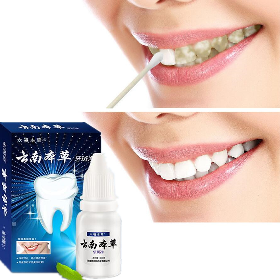 2pcs Herb Teeth Whitening Essence Oral Cleansing Oral Hygiene Serum Effectively Removes Tartars Plaque Stains Dental Tools Care 3