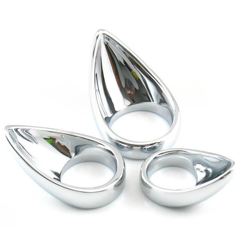 Из нержавеющей стали, металлические кольца блокировки Изысканные стойких Мошонка пенис кольцо язык кольцо анальная стимуляция CR200m дворе