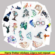 25pcs Movie Harry Potter stickers For Luggage Laptop Art Painting DIY Poster Sti