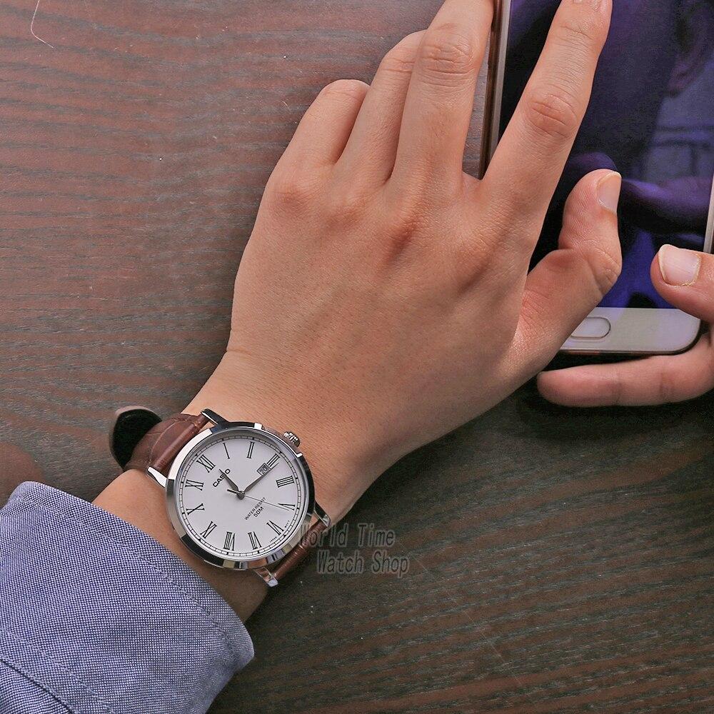Image 3 - Casio watch Simple watch men top brand luxury set quartz watche 50m Waterproof men watch Sport military Watch relogio masculino-in Quartz Watches from Watches