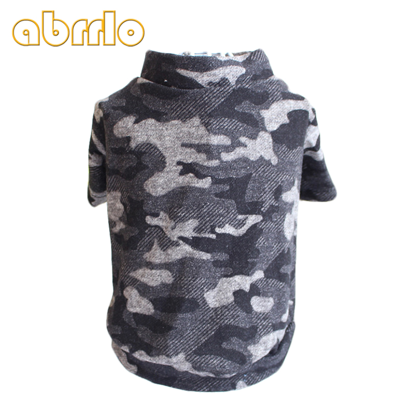 Abrrlo Camouflage Pet Dog Vest Clothes Puppy Clothing For Small Dogs Coats Hoodies Vests Clothing Funny Pets Summer Shirt