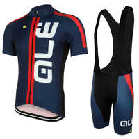 Ale Summer Breathable Men Skin Suit Cycling Set Sport Jersey 2017 Mtb Conjunto Ciclismo Roupa Bike