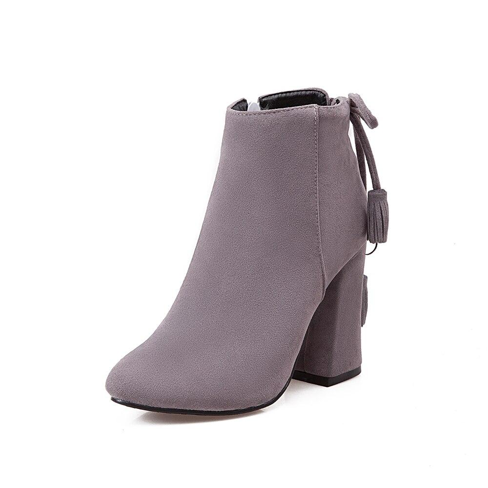 Ventas calientes zapatos de mujer de moda de borla con cordones - Zapatos de mujer - foto 3