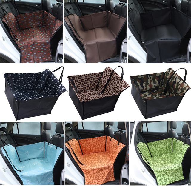 Waterproof Car Rear Back Single Seat Cover Pet Dog Carrier Cat Mat Blanket Hammock Cushion Protector Pet Supplies