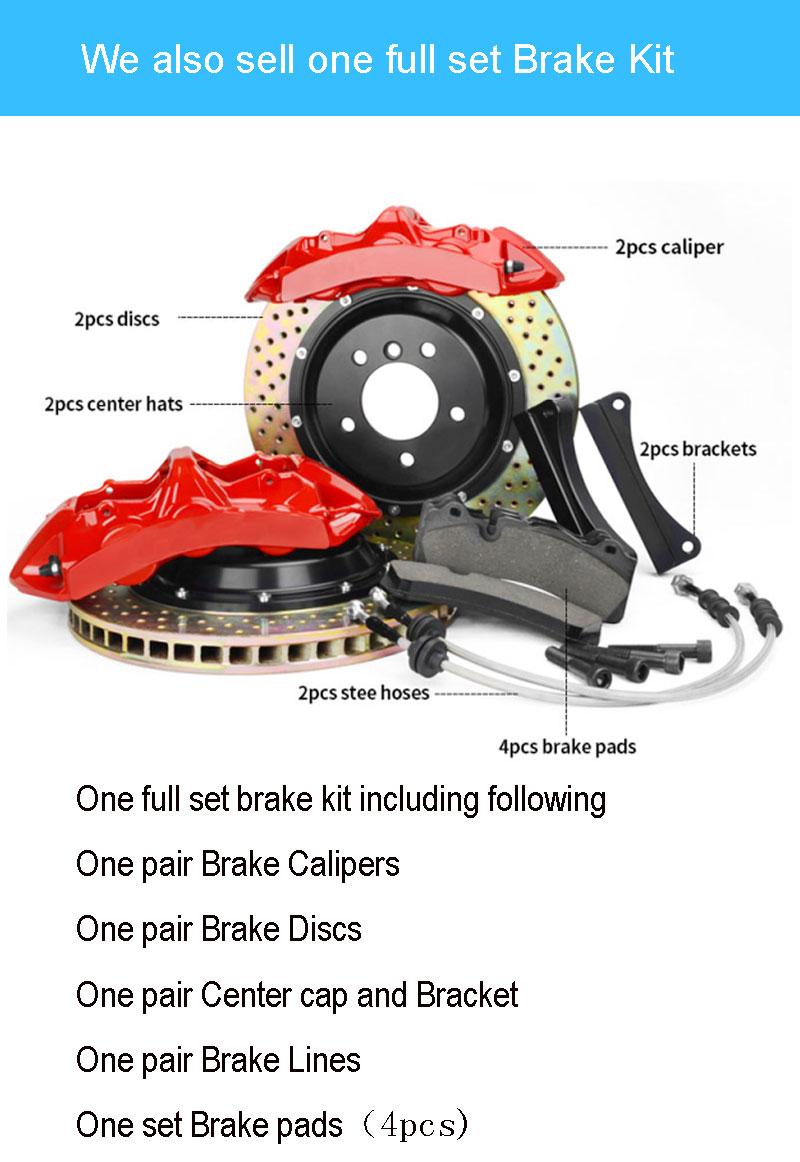 automobiles Jekit Alcon type Crescent brake rotors 355*32mm