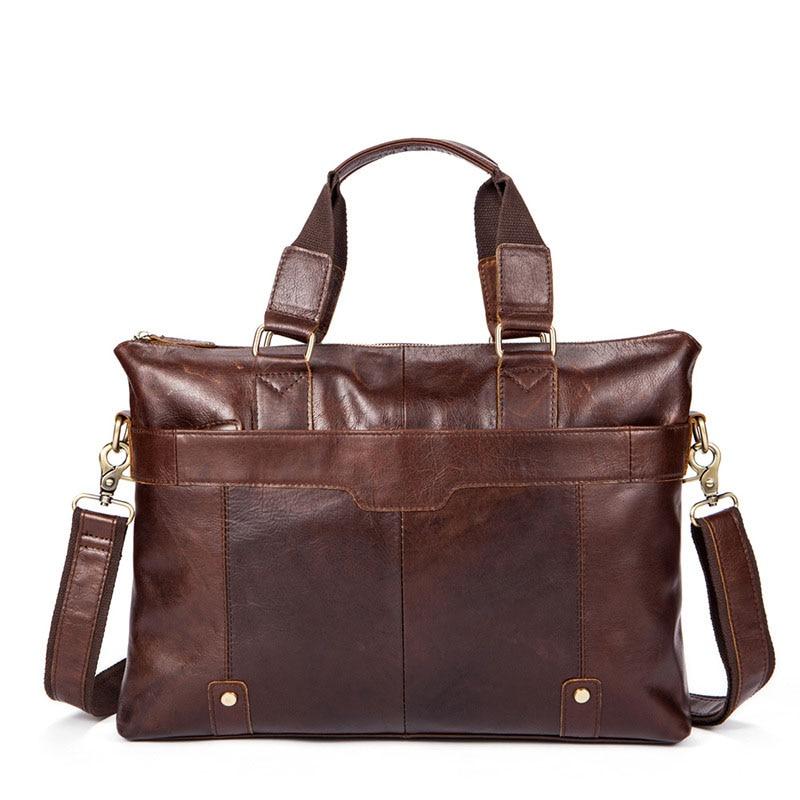 ZGVQ Brand Series Genuine Pouch Men Bags Folders Shoulder Bags Laptop Tote Bag Men Crossbody Messenger Bags Designer Handbags