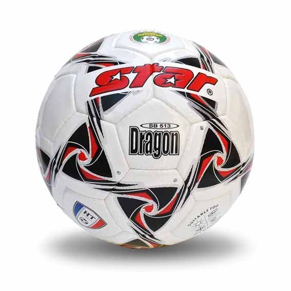 Free shipping! High quality Match use Star Soccer Ball/Football Size 3 SB513-26 DRAGON Gift: gas pin & net bag