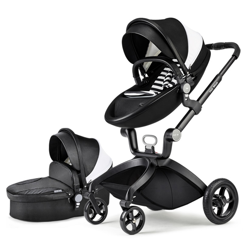 Original hot mum baby strollers 2 in 1  seven colors in stock original hot mum baby strollers 2 in 1 bb car folding light baby carriage six free gifts send rain cover