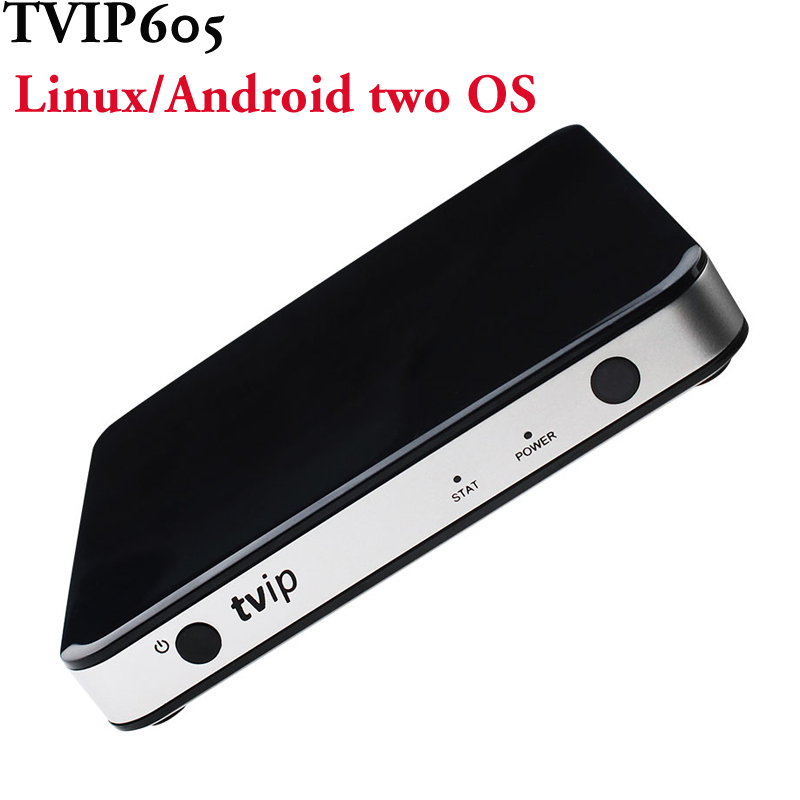 Smart IPTV Set Top Box Linux And Android 6 0 Systerm together TVIP605 5G Built in