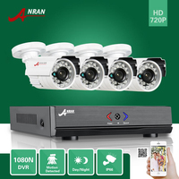 ANRAN 4CH AHD 1080N DVR HD D N 1800TVL Outdoor Camera CCTV Home Security System