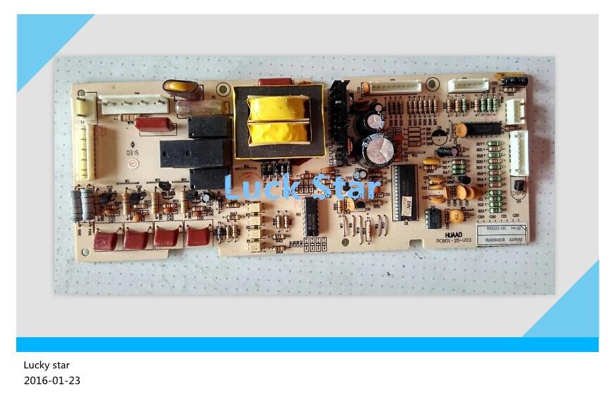 все цены на 95% new for Rongsheng refrigerator computer board circuit board PCB01-35-V04 BDG23-101 board good working