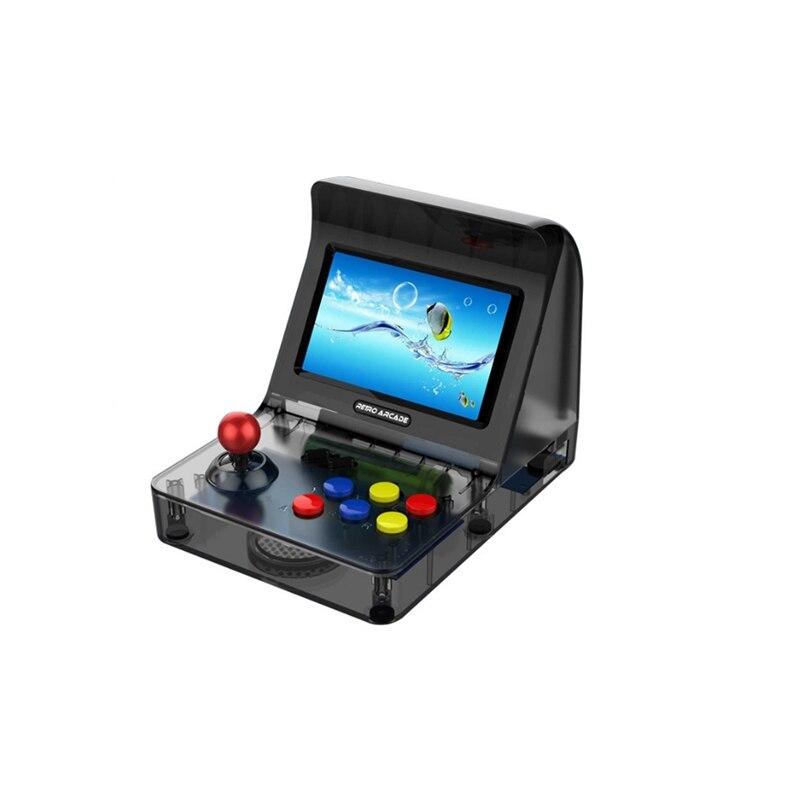 RS 07 Mini Vidéo Jeu Console 4.3 Pouces Construit En 3000 Jeux De Poche Jeu Console 18650 2200 Mah soutient TF carte à 32G