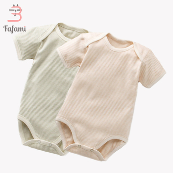 2 Pcs/set Baby bodysuit Baby girl boy clothes for newborn Organic cotton baby clothing children christmas jumpsuit sleepwear 1