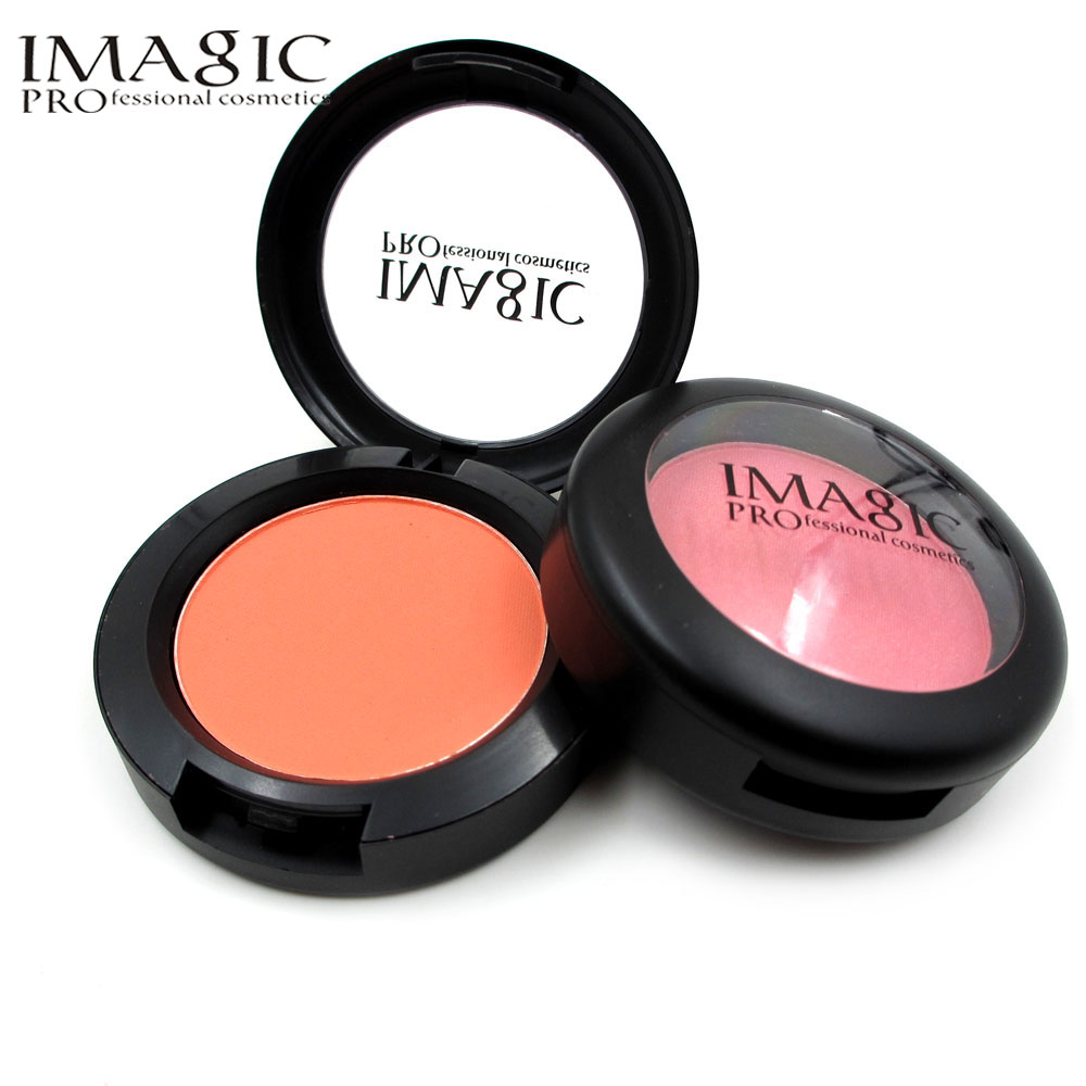 Pressed font b Blush b font Powder Face Makeup Mineral Blusher Professional Cheek Makeup Blusher Sleek