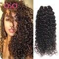 Cabelo Virgem brasileiro Profunda Curly Virgem Cabelo Weave 3 Bundles Ali modo de Produtos para o Cabelo Brasileiro Onda Profunda Molhado e Ondulado Do Cabelo Humano