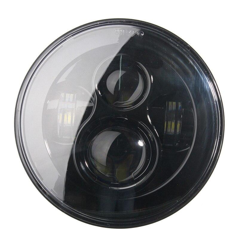 1X7 pouces H4 H13 Moto phare LED hi-lo Moto feux de croisement pour HARLEY