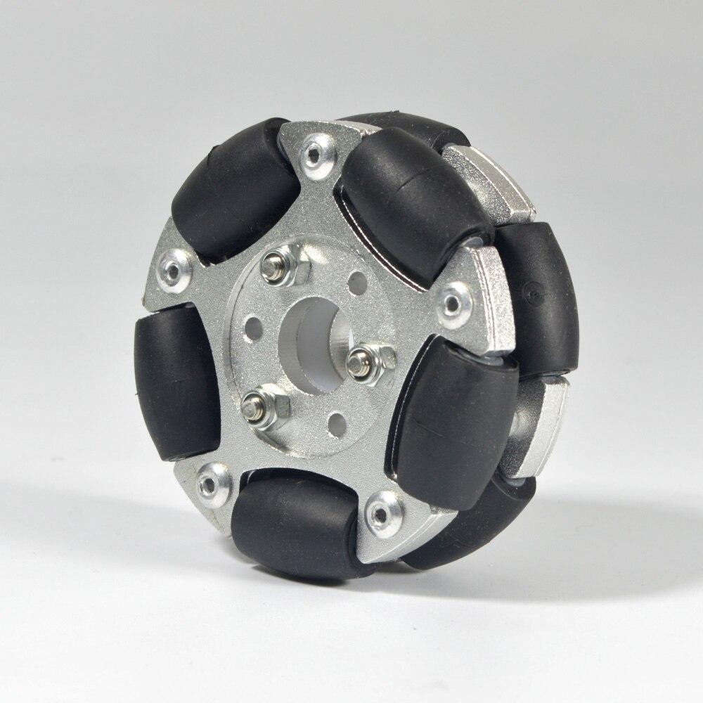 Image 3 - 60 мм двойные алюминиевые Omni колеса 14145-in Образовательное оборудование from Офисные и школьные принадлежности