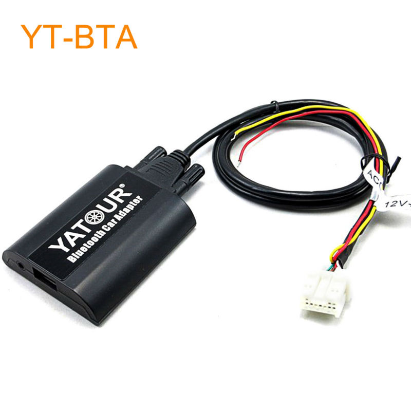 Yatour BTA Car Bluetooth Adapter Kit for Nissan Qashqai X-trail Pathfinder Navara Teana 350Z Patrol Primera Almera Murano Maxima yatour car adapter aux mp3 sd usb music cd changer cdc connector for nissan almera tino maxima murano navara note patrol radios