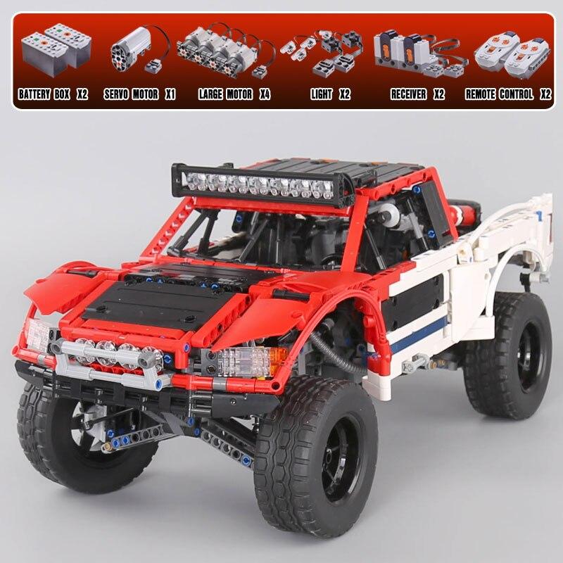 2314pcs Lepine 23013 Genuine Technic MOC Series SUV car Pickup truck bricks model building kits blocks toys for Christmas gift lepine model