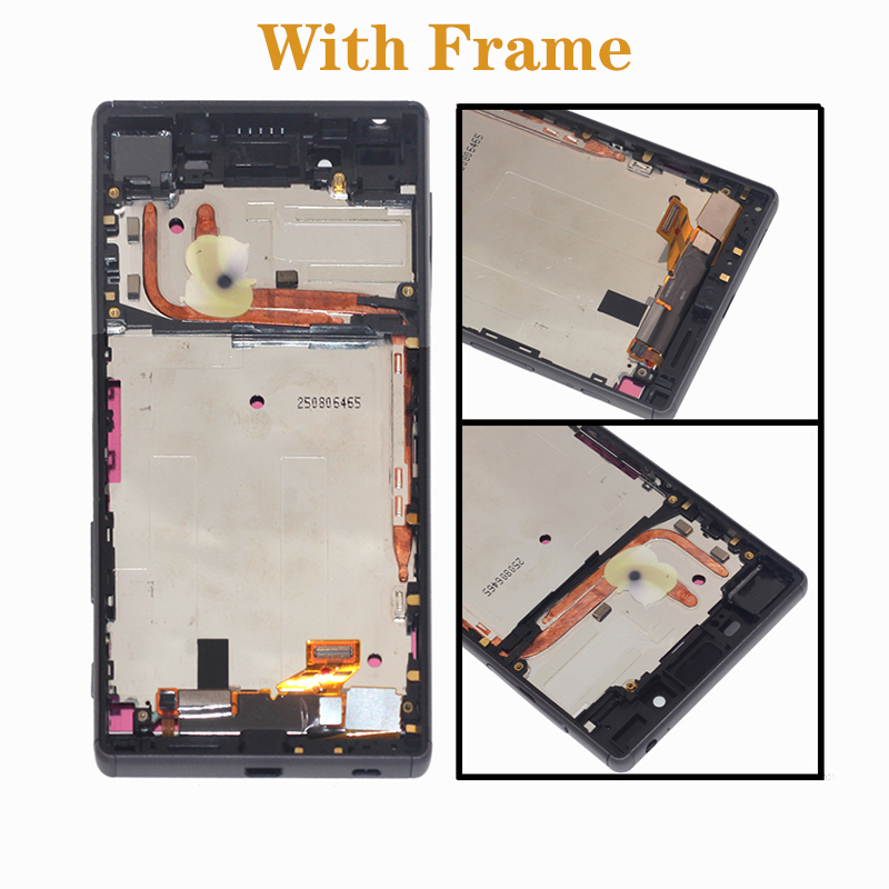 Image 3 - AAA display For Sony Xperia Z5 E6653 E6603 E6633 LCD + touch screen digital converter assembly mobile phone repair parts + tools-in Mobile Phone LCD Screens from Cellphones & Telecommunications
