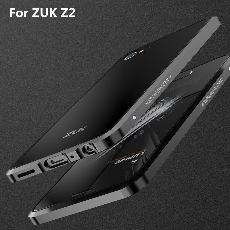 imágenes para Lenovo zuk z2 case original luphie parachoques del metal de lujo cubierta teléfono case para lenovo zuk z2 pro marco de aluminio de la aviación case