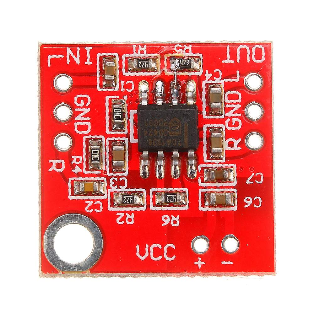 Pre Amplifier TDA1308 Headphone Amplifier AMP Board Stable Low Distortion 3V-6V