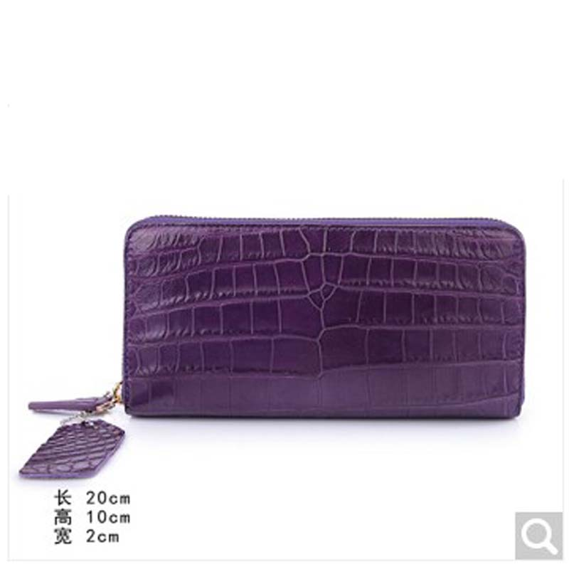 weitasi Really a crocodile The belly belly whole is not spliced high-grade Luxury women's clutch bag for dinner