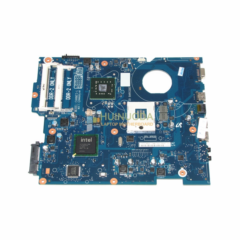 NOKOTION Laptop Motherboard For Samsung R519 BA92-05835A BA92-05835B BA41-01106A GL40 DDR2 mainboard Free CPU