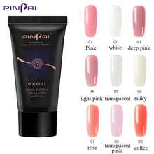 9 Colors 30g Nail Poly Acryl Gel UV LED Extend Builder Acrylic for Building Manicure Art Tip Extension Polygel