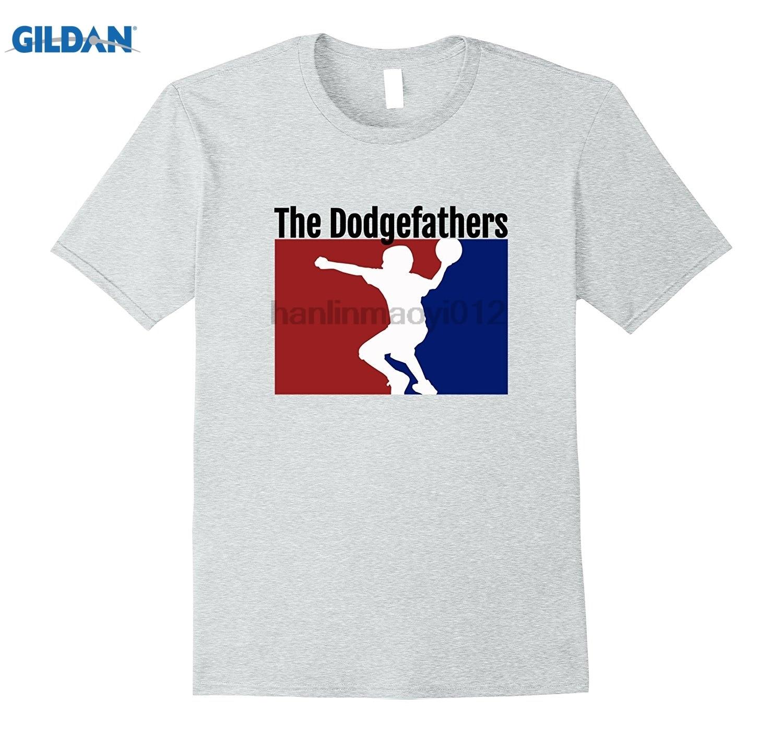 GILDAN Dodgeball Champs Team Name - The Dodgefathers Shirt Womens T-shirt