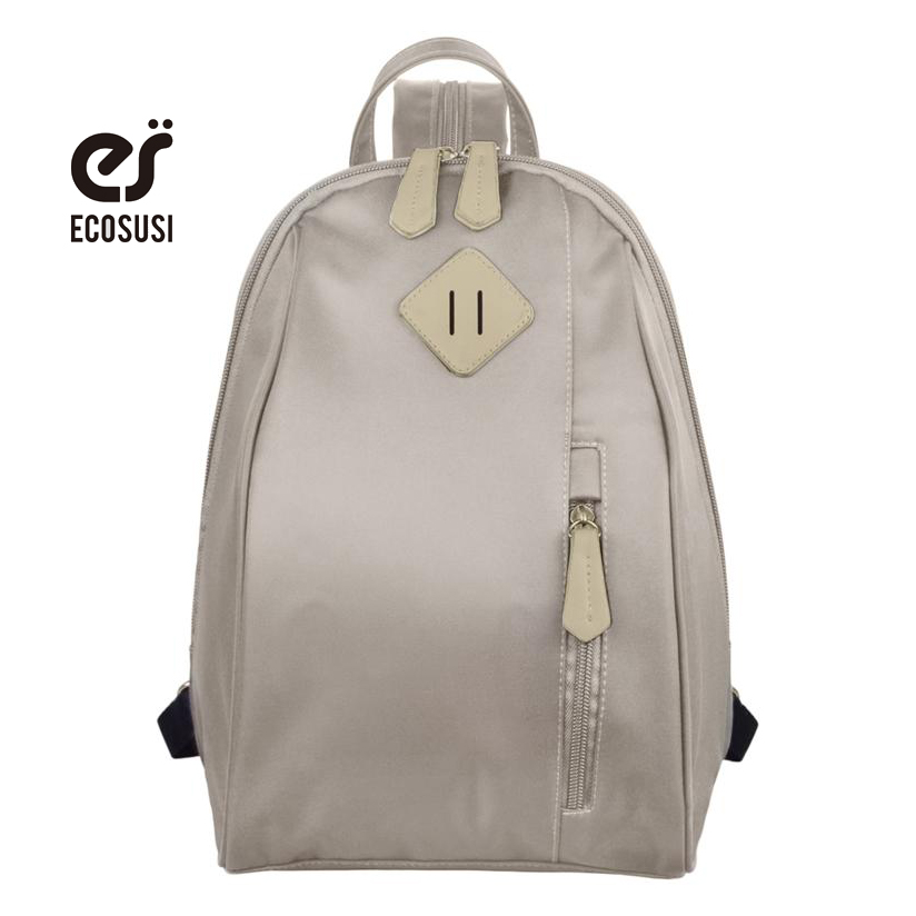 ecosusi 2018 Free Shipping New Designer Women Backpack Cute Black School Backpack For Teenagers Fashion Travel Backpack Bags