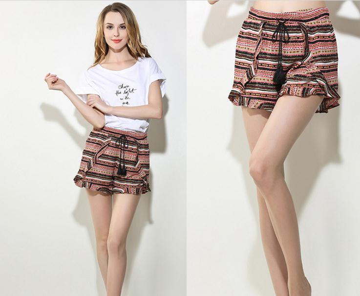 Free Shipping,Brand sales 4.99 fashion women cute shorts.clearances femme summer eur size home shorts.casual thin slim 40-60