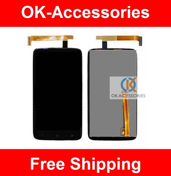 For HTC one x G23 lcd Display Completed Assembly LCD For HTC One X S720E G23 1PC/Lot сотовые телефоны