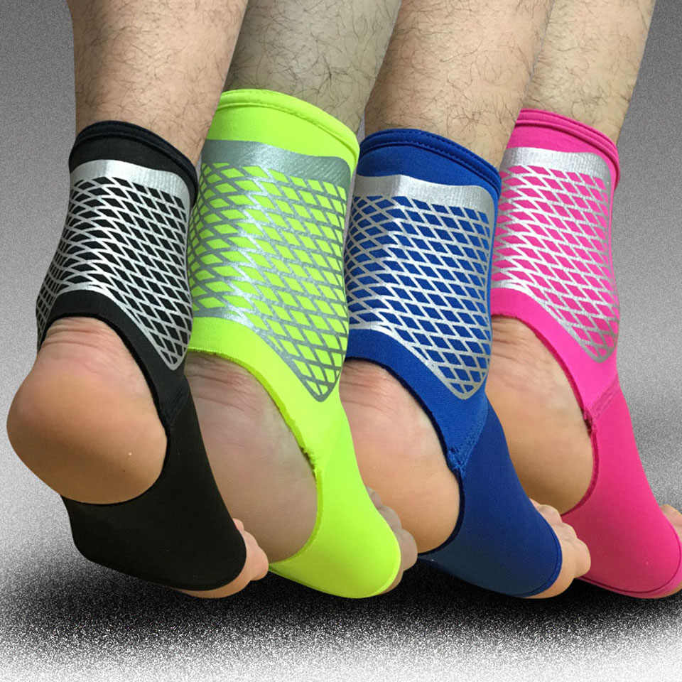 1PCS Sport Ankle Support Elastic High Protect Sports Ankle Equipment Safety Running Basketball Ankle Brace Support