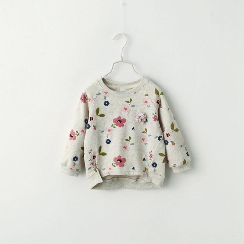 2019 Fashion T-shirts Kids Winter Autumn Hoodie Clothes Children Sweatshirts For Baby Girls Long Sleeves Sweater Girls Hoodies