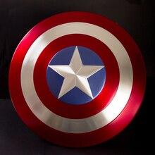 Captain America 1:1 full metal shield  Captain America's shield 1:1 aluminum alloy avengers alliance All metal film version
