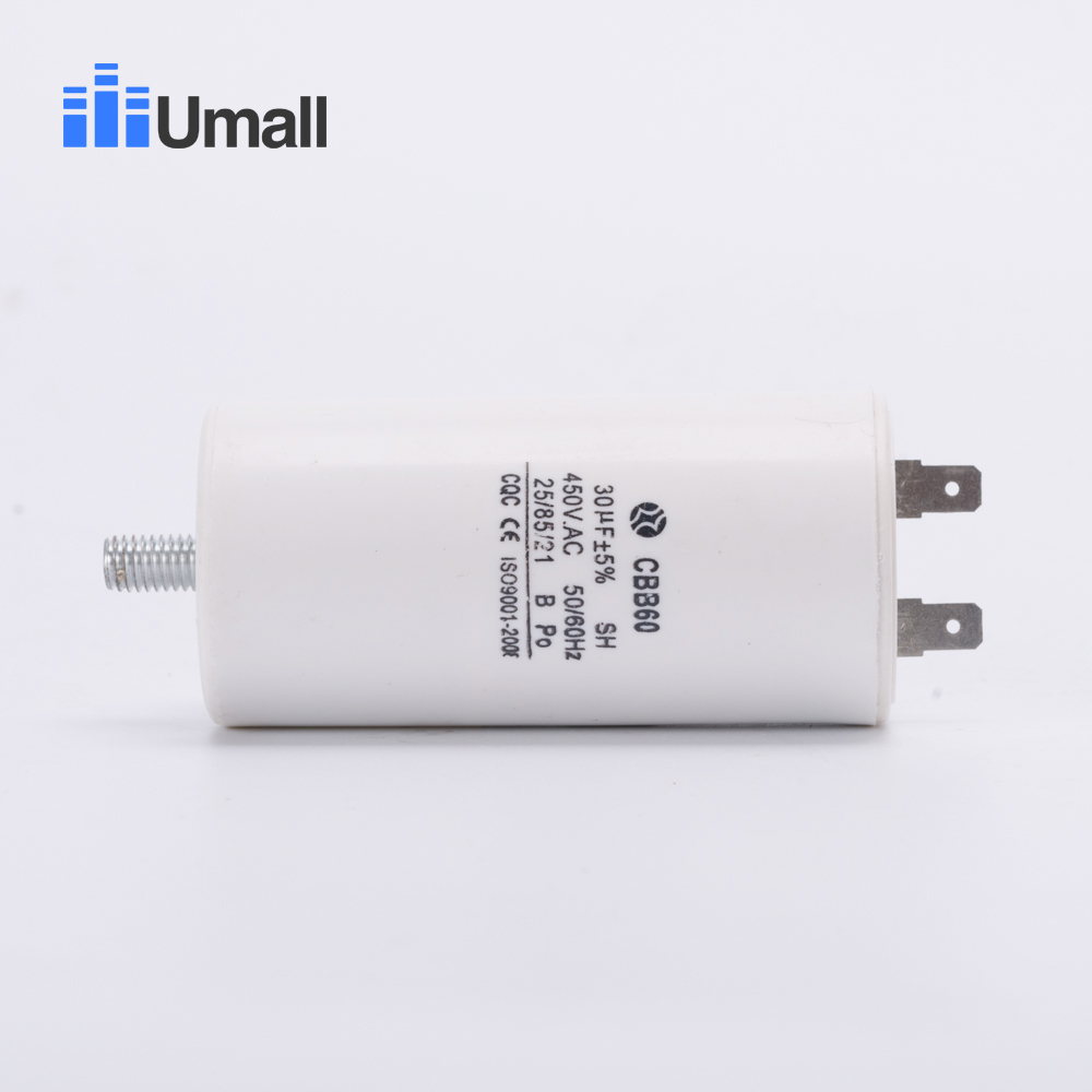 Cbb60 450v 30uf Running Motor Start Capacitor Two 2 Pins With Bottom Electrical Circuit Screw For Electric Washing Machine Air Conditioners In Ac From Home Improvement