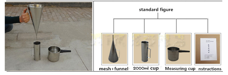 ASTM Standard Marshall Cone For Viscosity