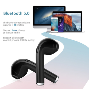 Image 5 - 5.0 i7 s TWS Bluetooth Earphone for Apple iphone 5s 6 6s 7 8 x Samsung s8 s9 Xiaomi Huawei true wireless earbuds + charging dock