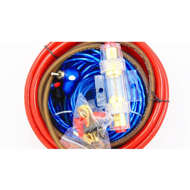 1500 Watt 8GA Auto Power Subwoofer Verstärker Auto Audio Draht ...