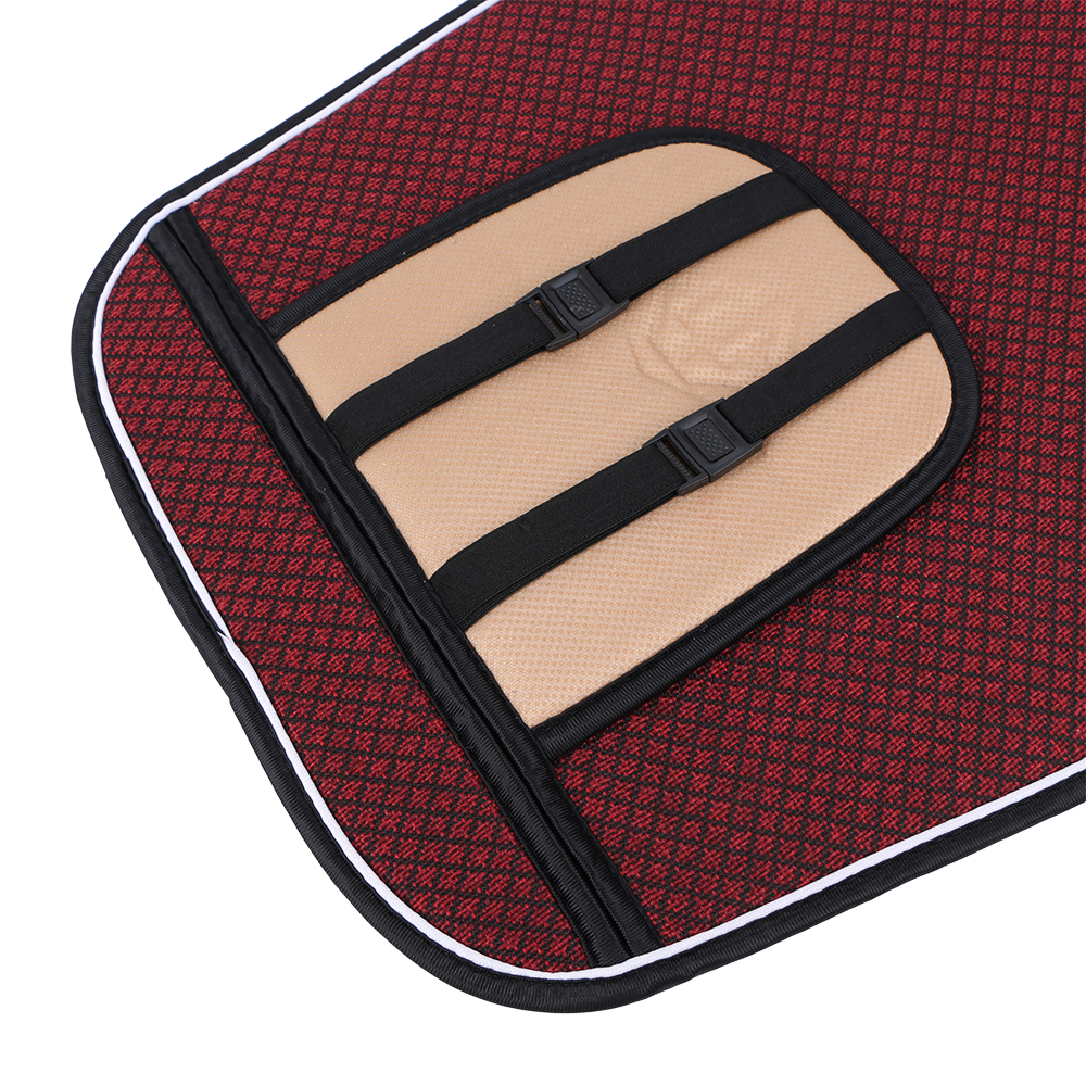 Image 4 - 1 Piece Car Front Seat Cover Pad Artificial Linen Automobile Single Cushion O SHI CAR Universal fit for Lada, Buick, Mazda, etc.-in Automobiles Seat Covers from Automobiles & Motorcycles