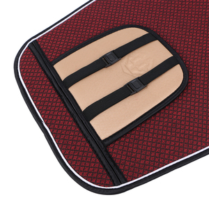 Image 4 - 1 Piece Car Front Seat Cover Pad Artificial Linen Automobile Single Cushion O SHI CAR Universal fit for Lada, Buick, Mazda, etc.