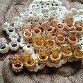 А . а . + роскошная 30 шт. 5 * 10 мм 3 цветов стразы сплав большое отверстие бусины ювелирные изделия бусины изделий и аксессуаров